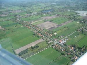 Flug über Ostrhauderfehn